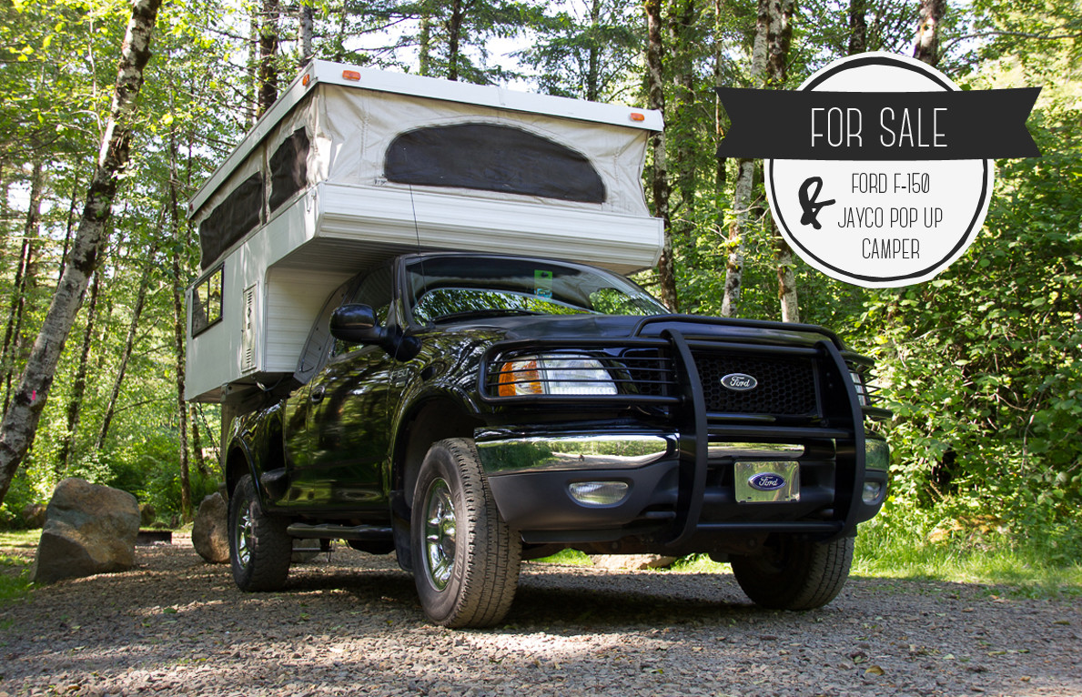 Truck Camper For Sale 1999 Ford F 150 1992 Jayco Pop Up