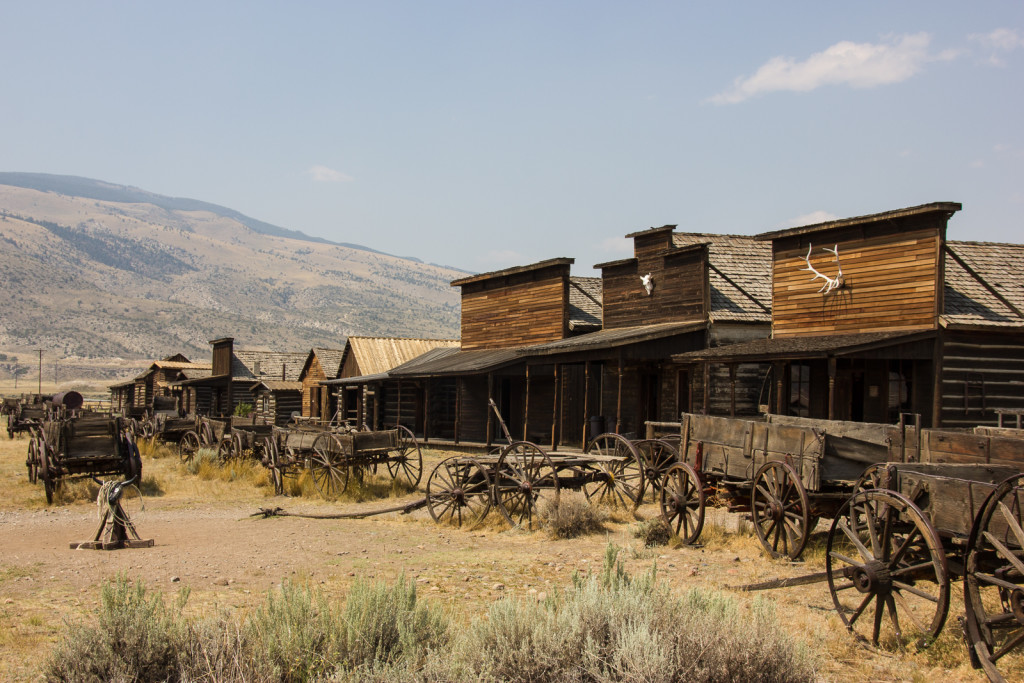 Old Trail Town in Cody, Wyoming.