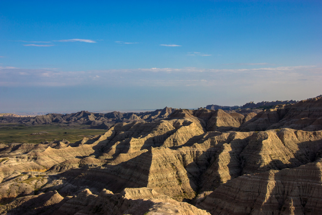 Another view from our camper at the outskirts of the Badlands.